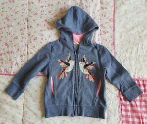 MILKSHAKE Sz 3 girls fleece Hoody Jumper Jacket