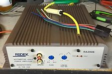 NEW Old School Rodek RA280E 2 Channel Amplifier,RARE,USA,Zed Audio,Unicorn,NOS