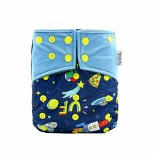 Space Design Bamboo Charcoal Cloth Nappy