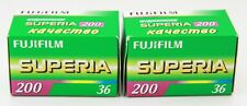 2 films Unopened Fujifilm Superia 200 Film 36 Frames was kept in the freezer