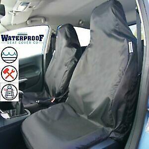 VW GOLF MK7 - Heavy Duty Waterproof Front Seat Covers Protectors - Black