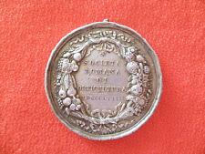 RARA Medaglia SOCIETA' ROMANA DI ORTICULTURA 1859 PIVS IX PONTIFEX