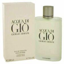Acqua Di Gio Cologne by Giorgio Armani, 6.7 oz Eau De Toilette Spray for Men