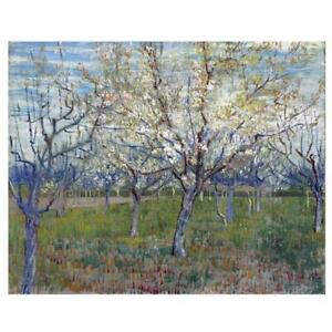 Van Gogh Painting Pink Orchard in Blossom