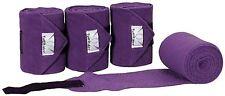 Purple colored TuffRider Horse Fleece Polo Bandages - ID# 100346-265/1267/STD