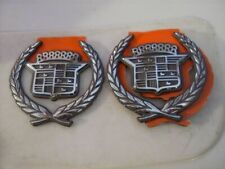 NOS Genuine GM 1994-1999 Cadillac Deville Silver Crest Wreath Emblem 25616621