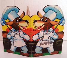 Il Cuoco COLLANA I GRANELLINI edizioni Malipiero 1969 libro sagomato
