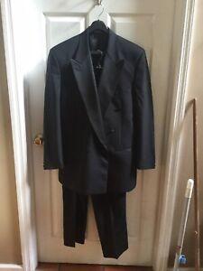 Barneys New York Double Breasted Tuxedo