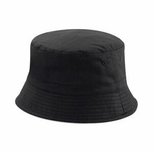 Reversible Cotton Bucket Hat Adults Mens Ladies Festival Fishing Sun Beach Summe