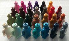 LEGO Plain Figures Monochrome Monofigs Minifigures NEW