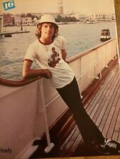 Andy Gibb, Full Page Vintage Pinup