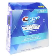 Crest 3D 14 x 1 Hour Express White Strips Advanced Teeth Whitening (7 Pouches)