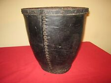GEORGIAN,CIRCA 1780-1800 MANSION OR COUNTRY HOUSE LEATHER FIRE BUCKET.