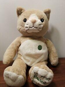 """My First Harrods Kitten 15"""" EUC Plush Stuffed Animal Cat"""