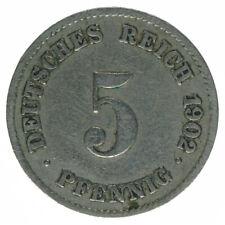 Deutsches Reich 5 Pfennig 1902 J A50372