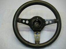 Astrali 3 Spoke  Leather Sterering Wheel Dished 13 Inch.