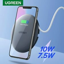 Ugreen 10W Wireless Charger 3 Modes Qi Fast Charging For iPhone X XR Samsung S9