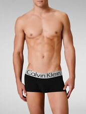 3 PACK- Calvin Klein Men's Mixed Colour Microfiber Steel Trunks Briefs Boxers