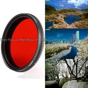 All-in-One Adjustable Infrared IR Pass X-Ray Lens Filter 67mm 530nm to 720 750nm