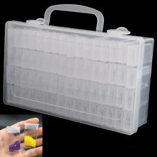Perlenbox Aufbewahrungsdosen Box Sortierbox Fächerboxen Nail Art Decor 64-Slots
