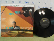 Jack Fina Plays Boogie Woogie, Dot Records DLP 25243, Jazz