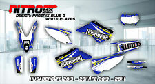 HUSABERG Graphics Kit Decals Design Stickers TE FE 125 250 350 450 2013 - 2014