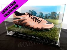 ✺Signed✺ NATHAN HINDMARSH Football Boot PROOF COA Parramatta Eels 2018 Jersey
