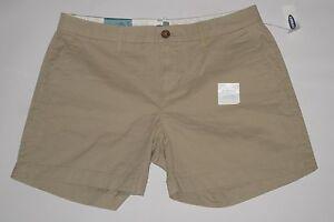 "NWT- OLD NAVY Beige / Tan / Khaki 5"" shorts Size 4"