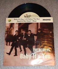 "original Beatles 45 7"" record Baby It's You"