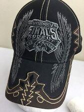 Wrangler NFR National Finals Rodeo Hat Baseball Cap LAS VEGAS 2010 Embroidered