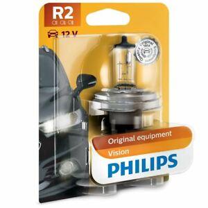 PHILIPS R2 Vision Motorcycle 12V 45/40W P45t-41 Bulb Single 12475B1