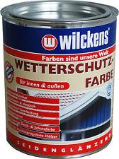 Wilckens  Wetterschutzfarbe SG Innen & Außen  750ml /L15,98   2,5 L / L11,99