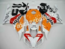 Fit for CBR1000RR 2006 2007 REPSOL White Orange Red ABS Injection Fairing Kit