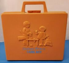 Vintage 1977 Fisher Price Tool Kit #924 - Complete w/ Drill and Case - Works!!!