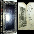 1835 TRAVEL IMPRESSIONS ALEXANDRE DUMAS 1ST EDITION VOYAGES LEATHER MONTE CRISTO
