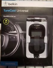 Brand New In Box Belkin TuneCast Universal Fm Transmitter for Most Mp3 Players