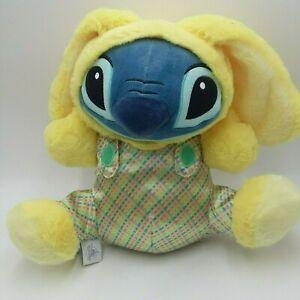 Disney Lilo and Stitch 10 Inches Plush Easter Bunny Rabbit Costume Yellow