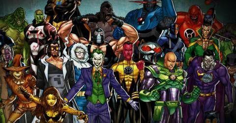 Villains Comics