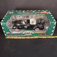 Texaco Red 1940 Ford Deluxe Coupe Diecast Pedal Car Bank By Gearbox NEW 1997