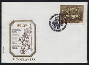 2790. Yugoslavia 1976 Centenary of Montenegrin Liberation Wars FDC