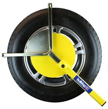 Bulldog CAT Autoclamp Wheel Clamp For Caravans & Trailers - Insurance Approved