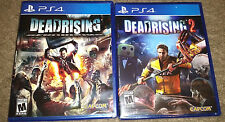 Dead Rising & Dead Rising 2 -Sony PlayStation 4 PS4 Games Capcom