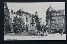 Tarjeta postal antigua CPA NANCY - Plaza Thiers
