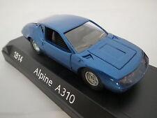 (1814) Renault Alpine A310,blaumetallic,1:43,Solido