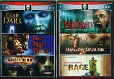 BIG BAD WOLF-Gangs Dead-Severed-Rage-6 Films- NEW 4 DVD