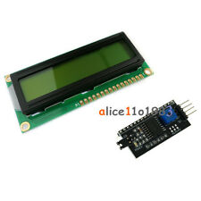 1602 16x2 Lcd Character Display Iici2ctwispi Serial Interface Board Module