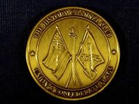 The History Channel Club Union And Confederate Flags Token Coin