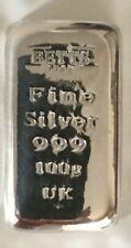 100g Silver Bar Betts #2