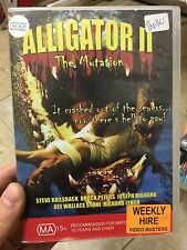 Alligator 2 The Mutilation ex-rental region 4 DVD (1991 horror sci-fi film) RARE