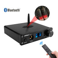 HIFI Bluetooth Preamplifier Audio Preamp USB OLED With Remote Control DAC AMP